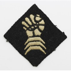 6th Armoured Division Cloth Formation Sign