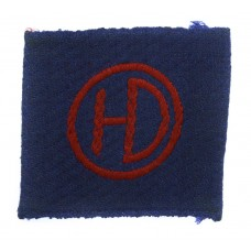 51st (Highland) Division Cloth Formation Sign