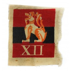 12th Army Printed Formation Sign