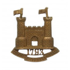 Loyal Suffolk Hussars Collar Badge