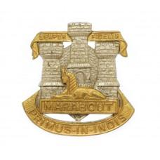 Devonshire & Dorset Regiment Officer's Collar Badge