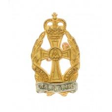 Queen Alexandra's Royal Army Nursing Corps (Q.A.R.A.N.C.) Officer's Collar Badge - Queen's Crown