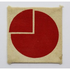4th Infantry Division Printed Formation Sign (2nd Pattern).