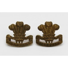 Pair of Pembrokeshire Yeomanry Collar Badges