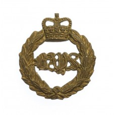 2nd Dragoon Guards (Queen's Bays) Collar Badge - Queen's Crown
