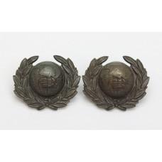 Pair of Royal Marines Lovat Dress Collar Badges