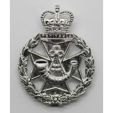 Green Jackets Brigade Anodised (Staybrite) Cap Badge