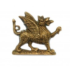 1st Bn. Monmouthshire Regiment Collar Badge