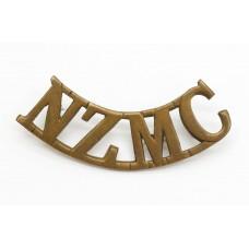 New Zealand Medical Corps (N.Z.M.C.) Shoulder Title