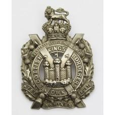 Victorian King's Own Scottish Borderers (K.O.S.B.) Cap Badge