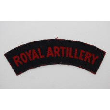 Royal Artillery (ROYAL ARTILLERY) Printed Shoulder Title