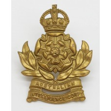 Australian Intelligence Corps Cap Badge - King's Crown
