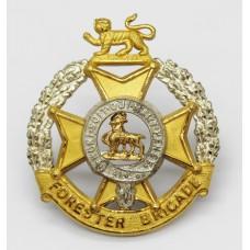 Forester Brigade Officer's Cap Badge