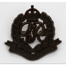 Corps of Military Police WW2 Plastic Economy Cap Badge