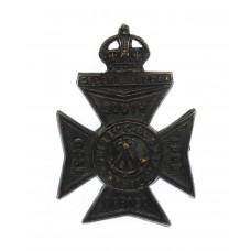 1st Cadet Bn. King's Royal Rifle Corps (K.R.R.C.) Beret Badge - K