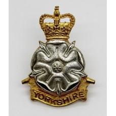 Yorkshire Brigade Officer's Cap Badge