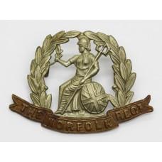 Victorian / Edwardian Norfolk Regiment Cap Badge