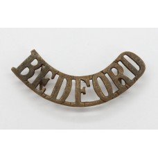 Bedfordshire Regiment (BEDFORD) Shoulder Title