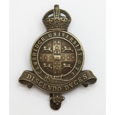 Cambridge University O.T.C. Cap Badge - King's Crown
