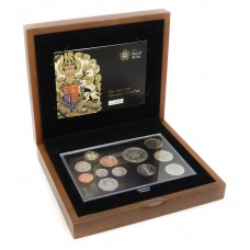 Royal Mint 2009 United Kingdom Executive Proof Coin Set with Rare Kew Gardens 50p Coin