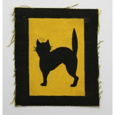 17th Division Printed Formation Sign