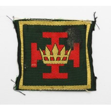 48th Infantry Division Silk Embroidered Formation Sign (2nd Patte