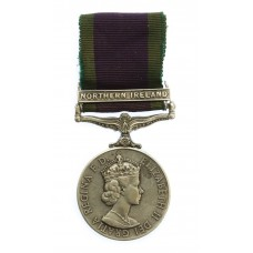Campaign Service Medal (Clasp - Northern Ireland) - Pte. P. Bevan