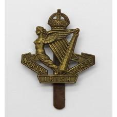 North Irish Horse Beret Badge - King's Crown