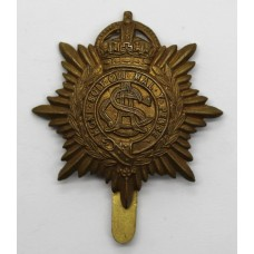 Army Service Corps (A.S.C.) WWI Economy Cap Badge (Non Voided Cen