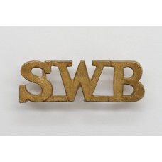 South Wales Borderers (SWB) Shoulder Title