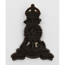 Pioneer Corps WW2 Plastic Economy Cap Badge