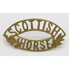 Scottish Horse Yeomanry (SCOTTISH/HORSE) Shoulder Title