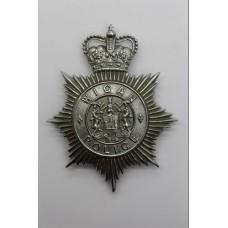 Wigan Borough Police Helmet Plate - Queen's Crown