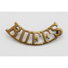 East Kent Regiment (BUFFS) Shoulder Title
