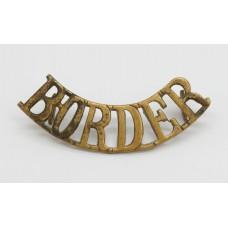 Border Regiment (BORDER) Shoulder Title