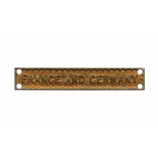 WW2 France and Germany Medal Clasp