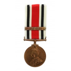 George V Special Constabulary Long Service Medal (Clasp - The Great War 1914-18) - Sergt. Herbert Mitchell