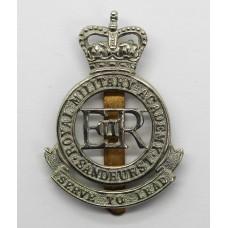 Royal Military Academy Sandhurst Cap Badge - Queen's Crown