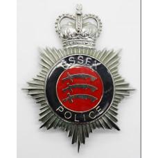 Essex Police Enamelled Helmet Plate - Queen's Crown