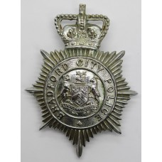 Bradford City Police Helmet Plate - Queen's Crown