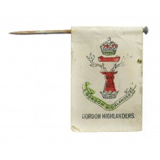 WW1 Gordon Highlanders Flag Day Fundraising Pin Badge
