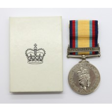 Gulf Medal 1990-1991 (Clasp - 16 Jan to 28 Feb 1991) - SG. I.C. K