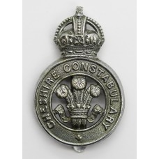 Cheshire Constabulary Cap Badge - King's Crown
