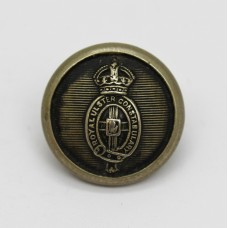 Royal Ulster Constabulary Button - King's Crown with Red Hand of Ulster Centre (Small)