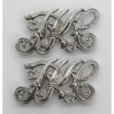 Pair of Perth & Kinross-shire Constabulary Collar Badges