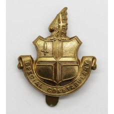 City of London Police Special Constabulary Cap Badge