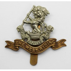 West Riding Regiment (Duke of Wellington's) Cap Badge