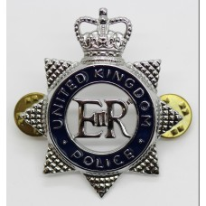 United Kingdom Police Enamelled Epaulette Badge - Queen's Crown
