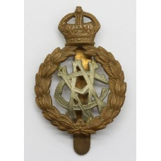 Army Veterinary Corps (A.V.C.) Cap Badge  King's Crown