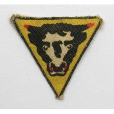 79th Armoured Division WW2 Printed Formation Sign
